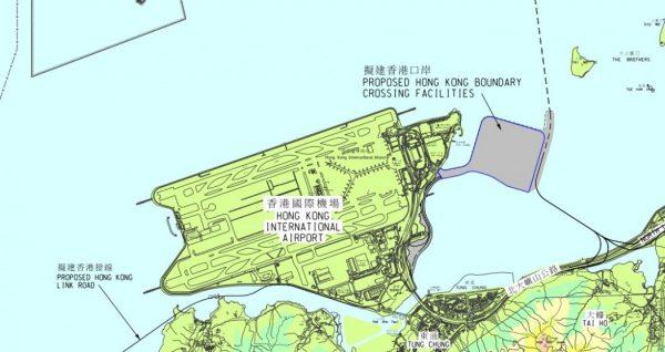 香港橋地図